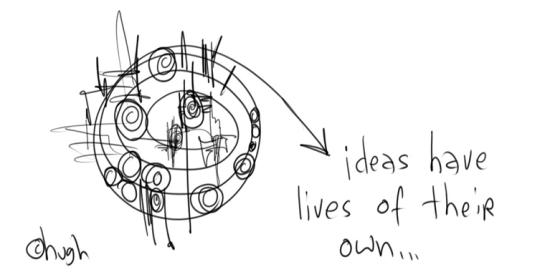 ideas con vida propia